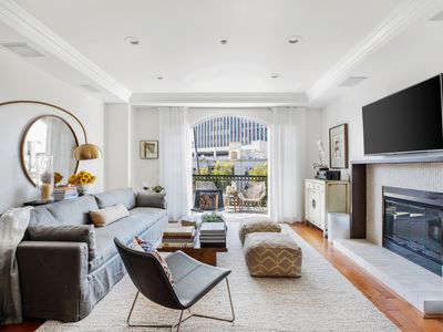 Photo for Exquisite 2BR 10 minute drive from the beach in the Pacific Palisades, by Veeve