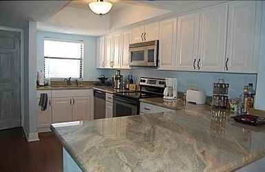 Newly renovated with stainless steel appliances and granite counters.