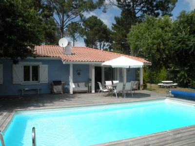 Photo for Quiet Villa with Heated Pool