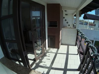 Photo for Studio with sea view, parking, kitchen, balcony and barbecue