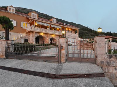 Photo for Stunning Mountain Coastal Estate Villa, only 30 minutes from Dubrovnik