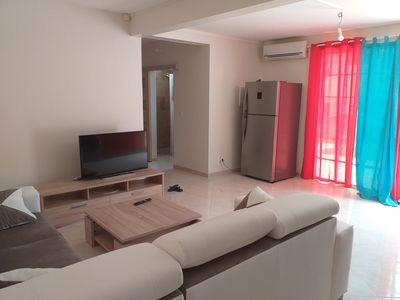 Photo for Superb air-conditioned T1 - bottom of villa - in a quiet subdivision