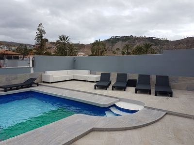 Photo for Luxury Holiday Home ~ Sleeps 15 People ~ Heated Pool And Free Beer