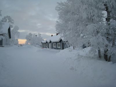 Photo for Holiday Cabins SAARISELÄN MARJAMAJAT, 2 bedroom apartments, each sleeps 4 pers.