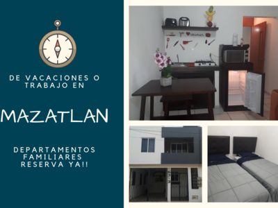 Photo for QUIET AND COMFORTABLE DEPA 10 MIN FROM THE BEACHES AND MALECON IN MAZATLAN