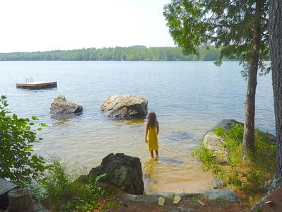 Photo for Family Friendly Summer Vacation Cottage on Beautiful Lake Pennesseewassee