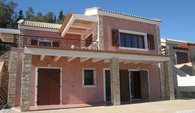 Photo for R328 3 Bedroom Villa Sharing Pool and Spectacular Ionian Sea Views Maid Service