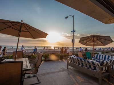 Photo for Ocean Front Paradise! South Mission- Super Cozy -1st Floor with 50 Ft Wide Patio