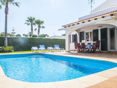 Photo for Villa Sivines, fall in love, 2 minutes from 2 beaches private pool, BBQ