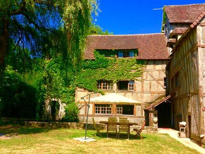 Photo for Your country house 300m2 1h from Paris, privatized, park 20h, river