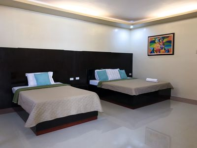 Photo for Clean Private Room at Alona Beach, Panglao (Good for 5)