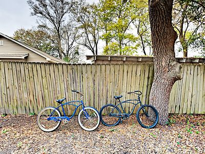 Bikes - Bikes are available for use during your stay.