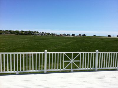 Photo for FALL RENTAL AVAILABLE  - Ocean and Marsh Views, walk to Harbor!