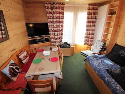 Photo for Surface area : about 20 m². Orientation : South. Living room with 2 pull-out beds