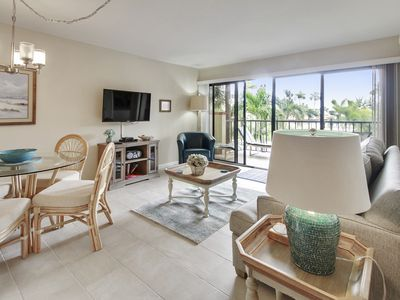 Photo for Land's End 203 building 1 Across pool, Hot tub and Beach access/Great updates