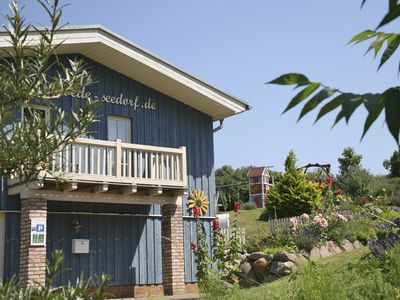 Photo for holiday home - 20m from the water, in the quaint fishing village Seedorf