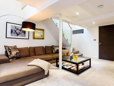 Photo for Attractive, contemporary 3BR 3bath home in bustling Islington, by Veeve