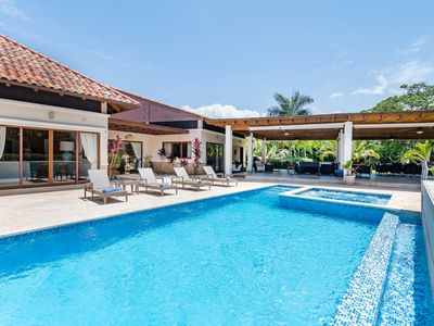 Photo for LUXURY VILLA W/ CHEF, BUTLER, MAID, POOL, JACUZZI, GAMES, HIBACHI & GOLF CART.