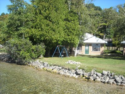 Photo for Stay on the water--Incredible Crystal Lake Lake Front Cottage!