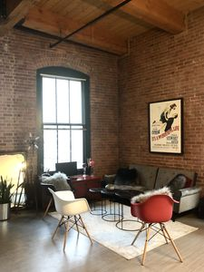 Photo for Cosy Loft in Historic For Point (Seaport), 750 sq ft.
