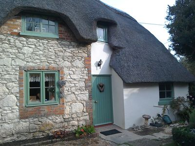 Brook Cottage front door