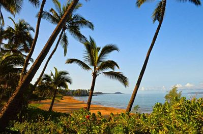 Beautiful Charley Young beach just steps from Maui Vista.