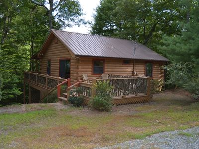 Photo for Freshly Stained! -- WiFi Sling, Netflix, outdoor fire, Fish, Hike, Walk the dog