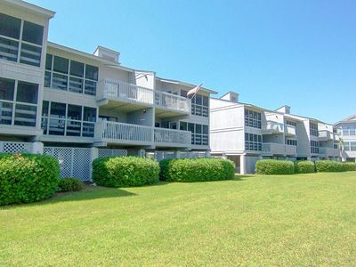 Photo for 16A Inlet Point Beach Condo, Nicely furnished with Partial Ocean Views