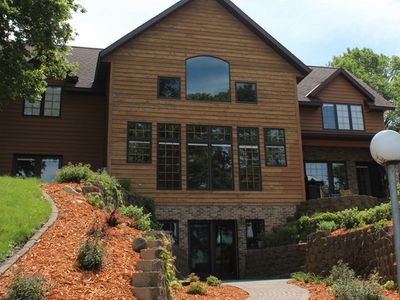 Photo for Luxurious Knotty-Pine Home on Crystal Clear Green Lake in Spicer, Minnesota