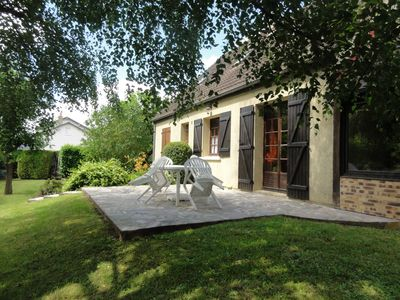Photo for Large family house with shaded garden in the heart of the Loire Valley