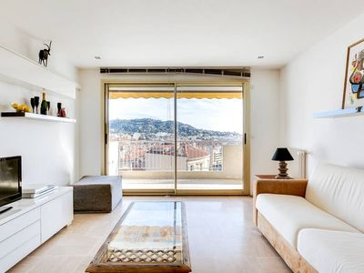 Photo for Apartment with BALCONY near CANNES CENTER