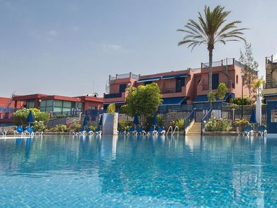 Photo for Spacious Meloneras Suites I apartment in Maspalomas with WiFi, integrated air conditioning & privat…
