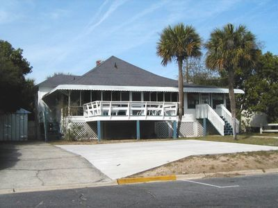 Photo for Classic Tybee Cottage - Half a Block from the Beach