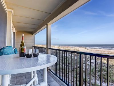 2BR Amelia Island DIRECT OCEANFRONT Condo: Spectacular Views!