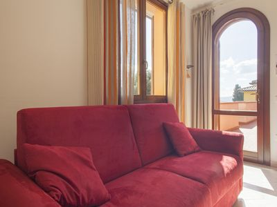 Photo for Rondinella - Apartment with balcony and swimming pool in Suvereto