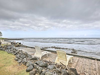 Photo for Peaceful Oceanfront Hauula Apt. w/Panoramic Views!