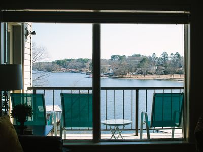 Photo for Beautiful 2 Bedroom, 2 Bath, Condo on Lake Hamilton with Covered Boat Dock!
