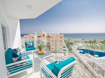 Photo for Apt. Thea, Luxury 3BDR Apt. with Stunning Sea Views, Close to the Beach