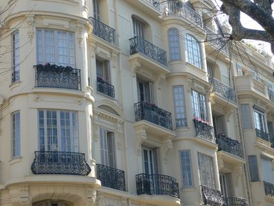 Photo for Spacious Historic Apartment, Central Nice, Carre d'or