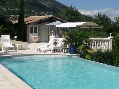 Photo for Superb studio with terrace and pool