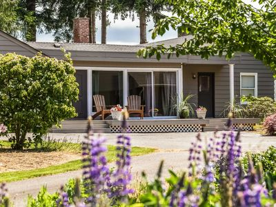 Photo for Waterfront Sequim Bay Home w/Deck & Private Beach!