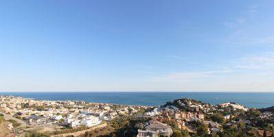 Photo for Modern Apartment with Panoramic Views, Balcony, Pool & Wi-Fi; Parking Available