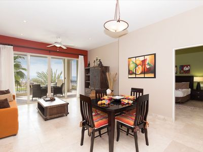 Photo for Beguiling pool-ocean view unit