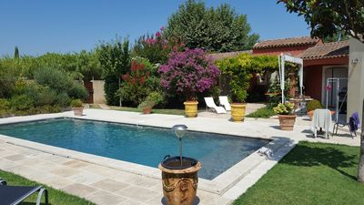 Photo for A ROBION BEAUTIFUL HOUSE IN PEACE IN THE LUBERON JOLIE SWIMMING POOL
