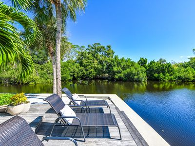 Photo for Best backyard oasis on Anna Maria. Treat yourself to an amazing beach vacation!