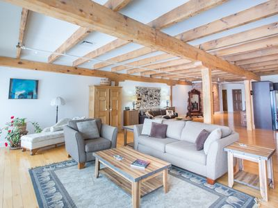 Historic Riverfront Penthouse with 2 Bedrooms in the Heart of Old Quebec