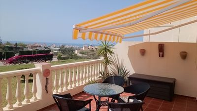 Photo for New to rent this apartment boasts Sea and Mountain views from its large terrace