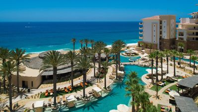 Photo for Cabo Sunsets! Luxurious Grand Solmar Master Suite - Direct Ocean Views