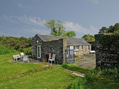 Photo for Tastefully restored stone stable in 200 year old walled estate yard on working farm…
