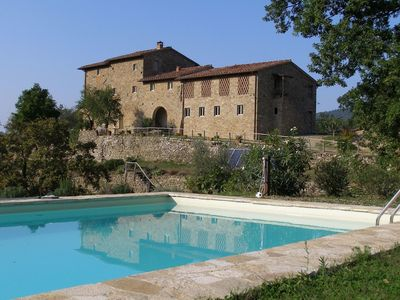 Photo for 2BR Apartment Vacation Rental in Pelago, Toscana
